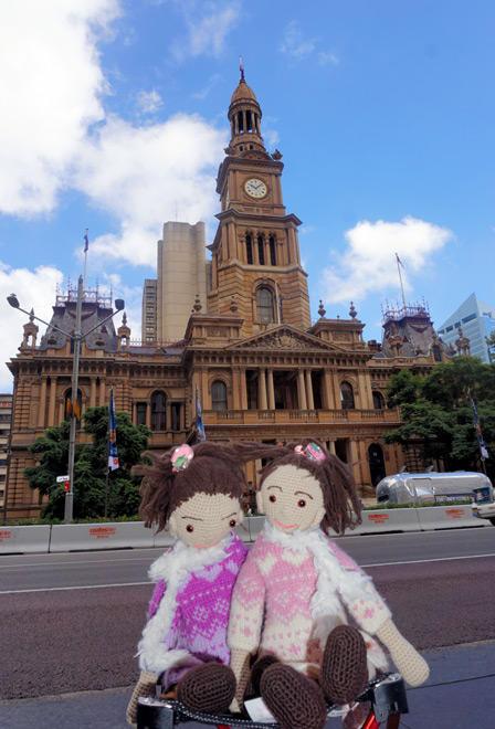 毛线玩偶旅行