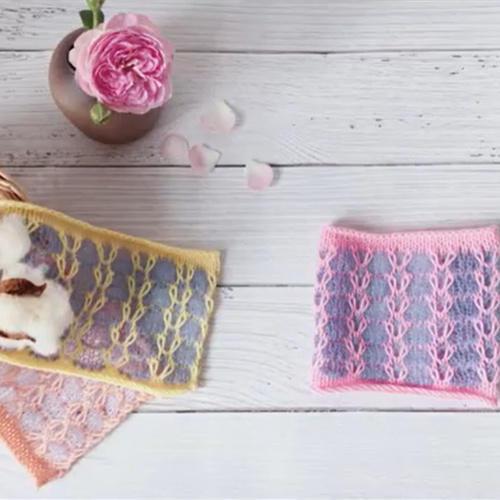 家用编织机机织花样