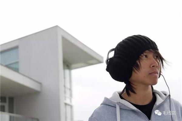 创意毛线帽