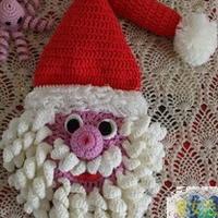 圣诞饰物之钩针圣诞老人