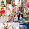 125款儿童编织服饰用品 欧美图解翻译教程
