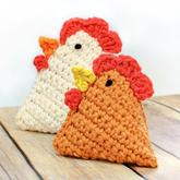 超简单的毛线编织DIY小公鸡 可做成香囊挂饰及毛线粽子