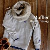 新手也可以轻松织的极简风粗针织羊毛围巾编织图解