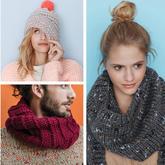 这个秋冬毛衣围巾帽子成套织吧 法国Phildar2017-2018秋冬编织服饰欣赏