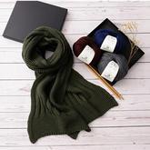 情书拼接款情侣棒针围巾  适合新手学织的围巾编织视频教程
