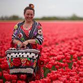 色彩与创意钩针的玫瑰人生 钩针艺术家Pollevie