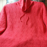 新颜 拆片羊绒女士棒针休闲领套头毛衣