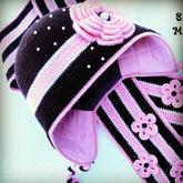 冷空气中让温暖加倍 毛线帽内衬制作方法