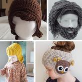 玩转毛线创意从头做起 帽子还可以这样织