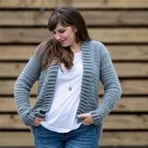 编织方法特别简单的春秋开衫 学会方法一衣可多织