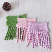 家用编织机LK150机织简单有趣流苏花边编织视频