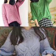 202018期周热门编织作品:春夏手工编织服饰女士毛衣10款