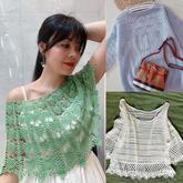 202020期周热门编织作品:春夏手工编织女士针织服饰15款