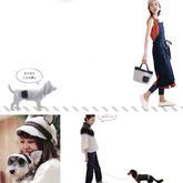 3套手工编织宠物狗狗与主人配套服饰编织图解