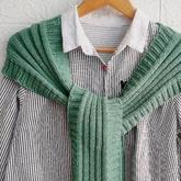 网红款春秋外搭小披肩(2-2)搭肩护颈围巾编织视频