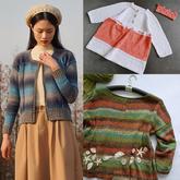 202120期周热门编织作品:手工编织春夏服饰14款