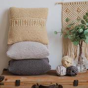 云趣棒针抱枕(3-1)北欧风家居编织视频教程