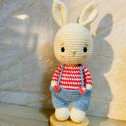 双股编织萌可爱娃娃家2.0钩针南瓜兔子