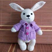 公益活动编织棒针彼得兔玩偶